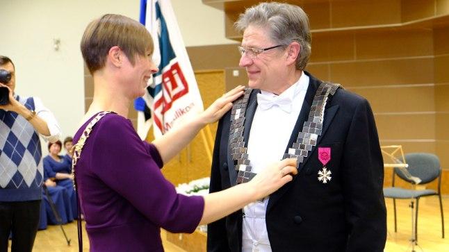 Kersti Kaljulaid ja Mait Klaassen