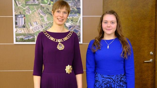 President Kersti Kaljulaid ja tema töövari Anna