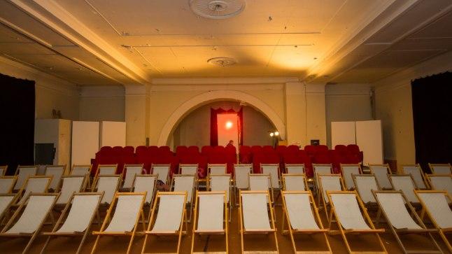 Tartu Elektriteatri kinosaal ülikooli endises kirikus