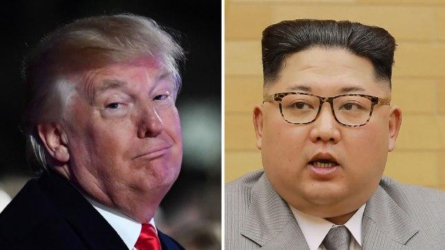 Domnald Trump ja Kim Jong-un