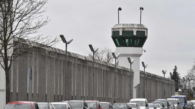 Plötzensee vangla müür
