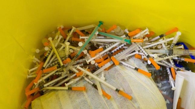 Süstlad Sitsi asumi kahjude vähendamise keskuses.