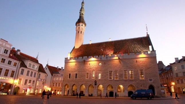 Tallinna linnamuuseumi algseks asukohaks oli plaanitud raekoja hoone, mis pidi uue raekoja ehitamise järel vabaks jääma.