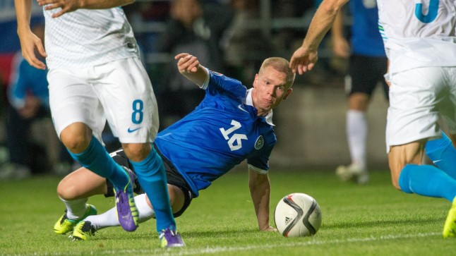 Ilja Antonov on senises 37 koondisemängus löönud kaks väravat. Mullune värav Bosniale sai Hõbepalli konkursil teise koha.