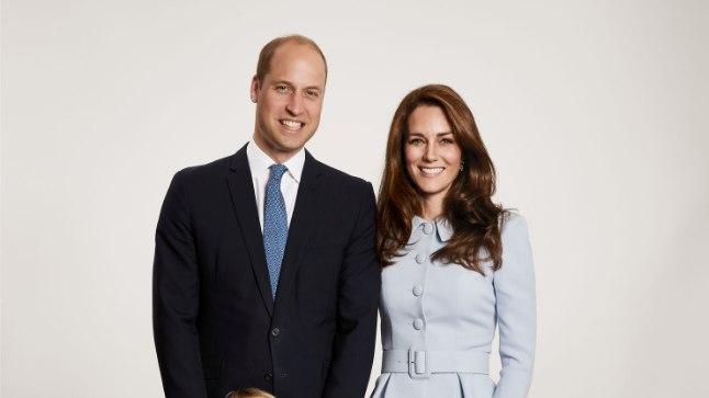 Kuningliku pere pühadefoto.