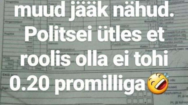 Kalvi-Kalle Kruusamäe postitus