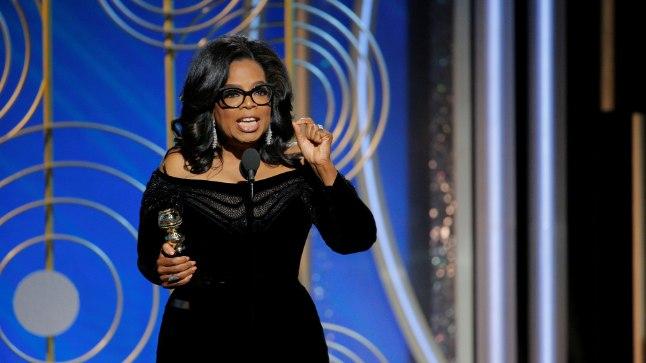 TULEVANE PRESIDENT? Oprah Winfrey Kuldgloobuste sõnavõtt läks ajalukku ühe võimsama kõnena, mida Ameerikas on eales peetud. Nii võimsana, et tekkis lootus – telemogul kukutab Donald Trumpi.