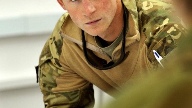 Prints Harry 2012. aastal Afganistanis Helmandi provintsis.