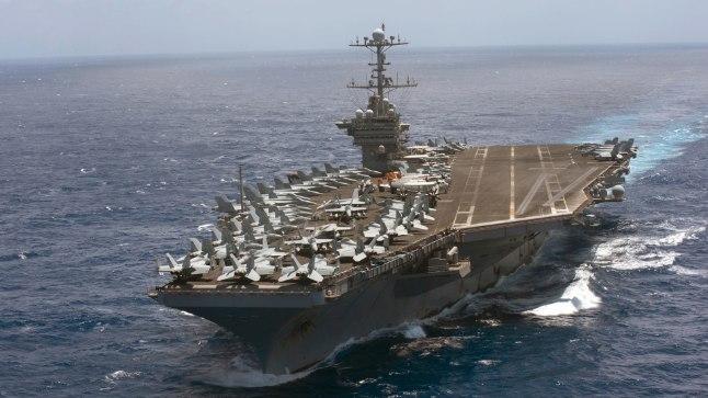 LENNUKIKANDJA: USA saadab kahe nädala pärast Norras algavatele NATO suurõppustele lennukikandja USS Harry S. Truman.