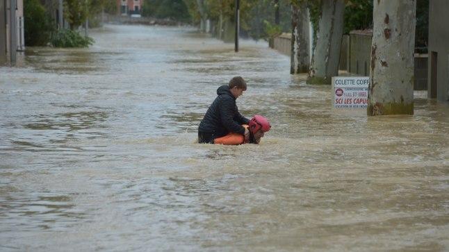 FOTOD JA VIDEO | Prantsusmaal hukkus üleujutustes 10 inimest