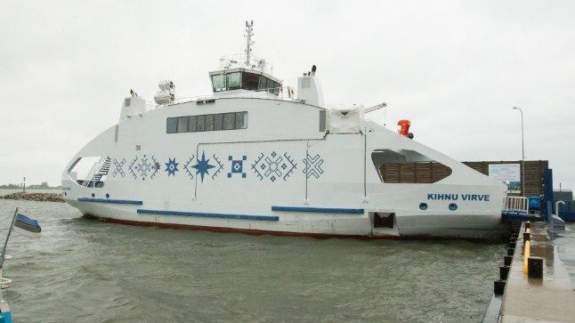 Tugev tuul võib esmaspäeval häirida laevaliiklust Munalaiu ja Manilaiu vahel