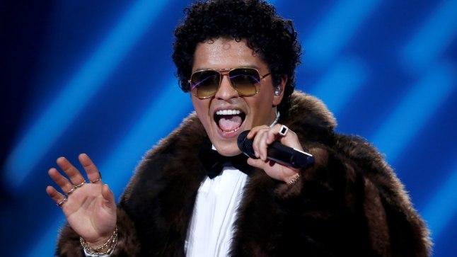 Laulja Bruno Mars