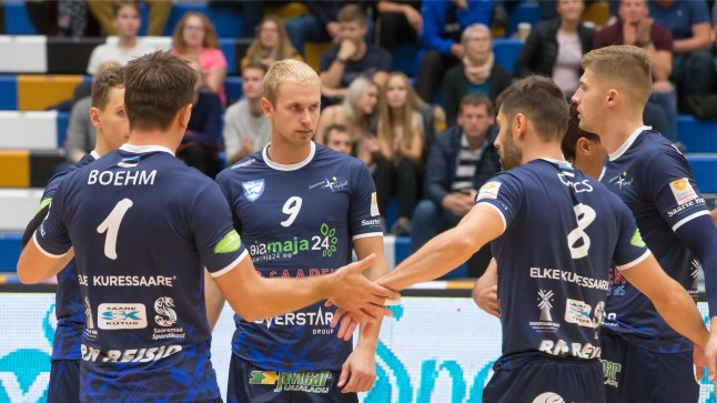 Taanlastest jagu saanud Saaremaa kohtub eurosarja järgmises ringis Prantsusmaa tiimiga