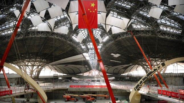 Pekingis avatakse tuleval aastal maailma suurim lennujaam