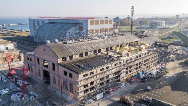 Noblessneri valukoda on jõudnud järgmisse oodatud etappi – hoones peeti eelmisel nädalal sarikapidu.