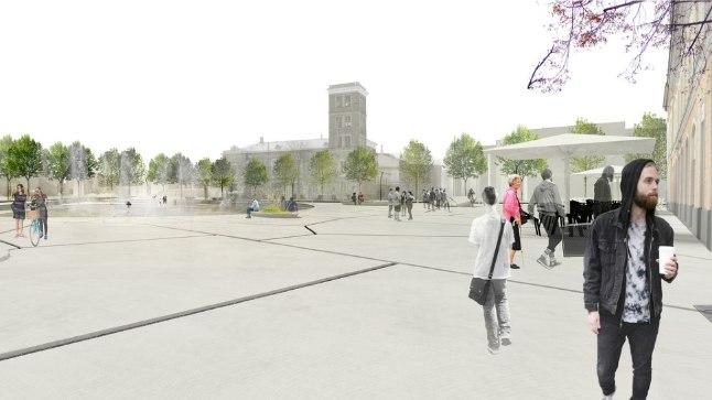 Tallinna peatänava projekt, mille põhimõteteks on autostumise vähendamine ja kaasav tänavaruum.