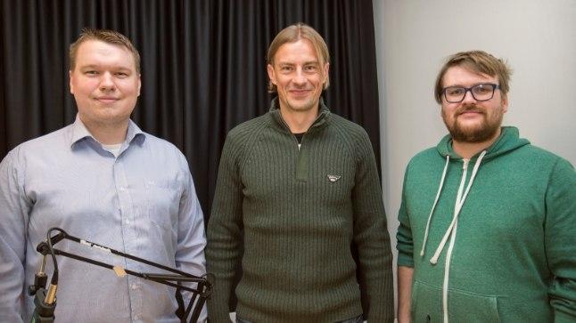 Vasakult: Karl Juhkami, Sergei Pareiko ja Siim Kera.