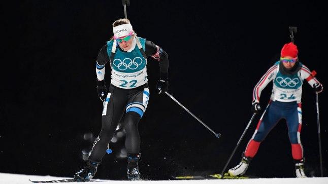 Johanna Talihärm on teinud Pyeongchangis kaks head võistlust.
