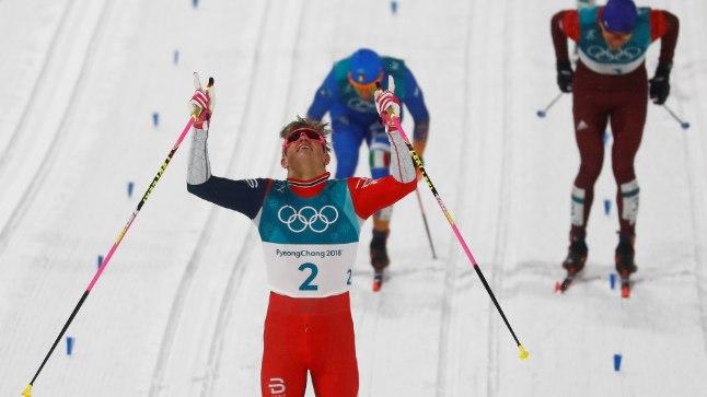 Olümpiavõitja Johannes Hösflot Kläbo.