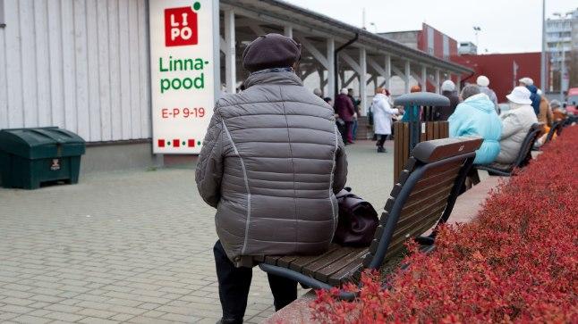 LIPO KOLIB: Tallinna linnapood tõmbub väiksematesse ruumidesse ja annab praeguse müügisaali toidupangale.