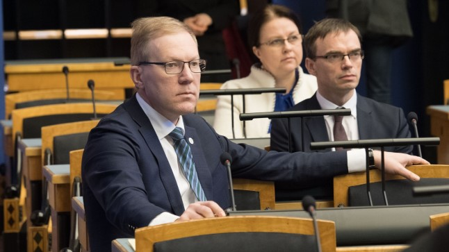 Marko Mihkelson ja Sven Mikser