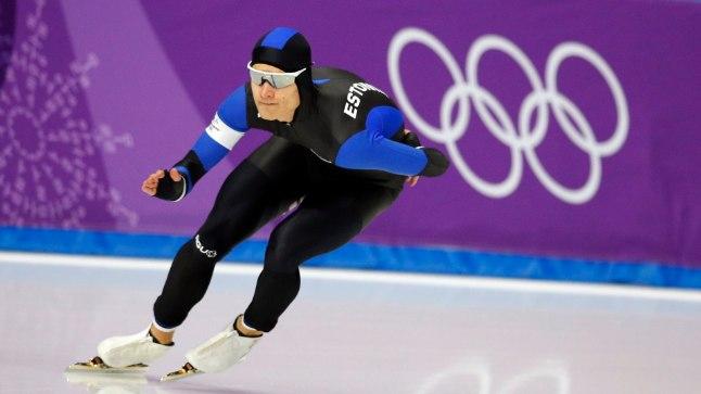 Marten Liiv Pyeongchangi olümpiarajal.