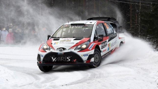 Jari-Matti Latvala näitas mullu, et Toyota on lumel väle.