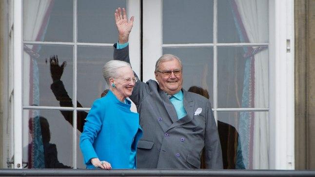 Prints Henrik ja kuninganna Mergrethe II 2016. aastal