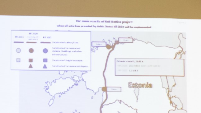 Rail Baltic pressikonverents 2016