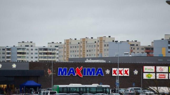 Maxima XXX kauplus Lasnamäel