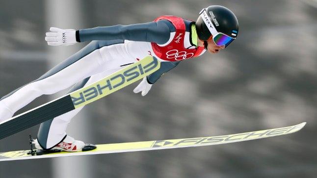 Kristjan Ilves Pyeongchangi olümpial