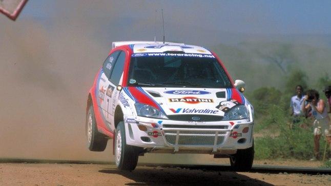 Colin McRae ja Nicky Grist 1999. aasta Safari rallil.