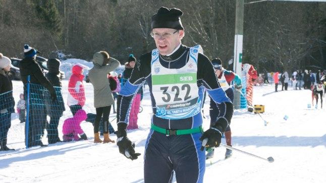 Harrastussportlane Priit Pullerits 2015. aasta Tartu maratonil