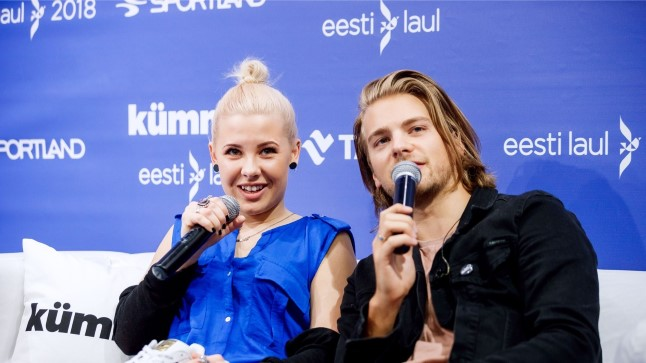 """Eesti laul 2018"" finaalijärjekorra väljakuulutamine"