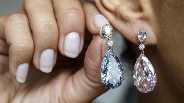 Teemantkõrvarõngad (pilt on illustratiivne)