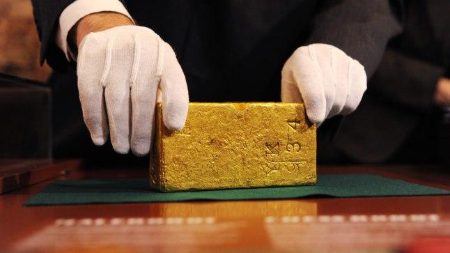 Eesti ajalooline 1922. aastast pärit kullakang
