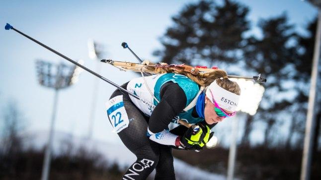 HURRAA: Johanna Talihärm tegi Pyeongchangis elu parima tiitlivõistluse.