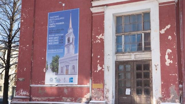 LAULUPEO HÄLL: Kultuurilooliselt olulises kirikus toimus esimese üldlaulupeo peaproov.