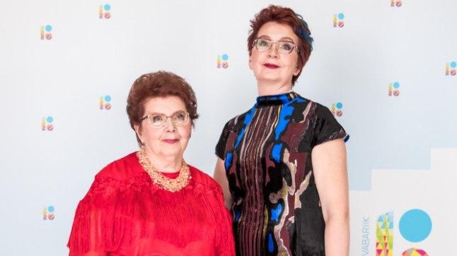 Margarita Tšernogorova koos tütar Yana Toomiga