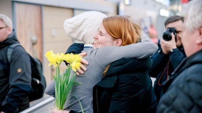 Saskia Alusalu jõudis Pyeongchangis toimunud taliolümpiamängudelt tagasi Eestisse