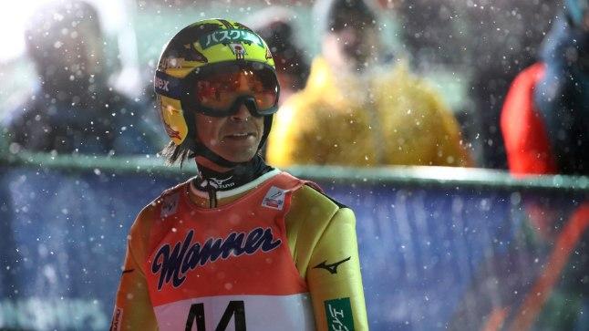 Vanameister Noriaki Kasai on tõusnud olümpiamängude eel heasse vormi, sest tuli jaanuaris MK-etapil viiendaks.