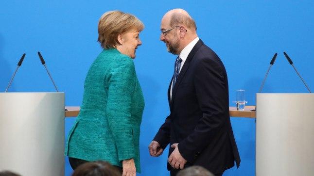 a0902717f33 SUNNITUD KOOSTÖÖ: Saksamaa liidukantsler ja Kristlik-Demokraatliku Liidu  juht Angela Merkel (vasakul)