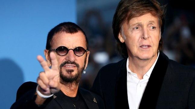 Paul McCartney ja Ringo Starr