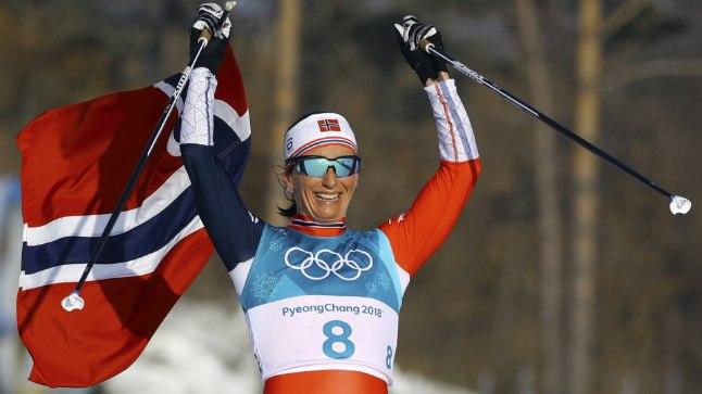 Olümpial võidutses samal distantsil Marit Björgen.