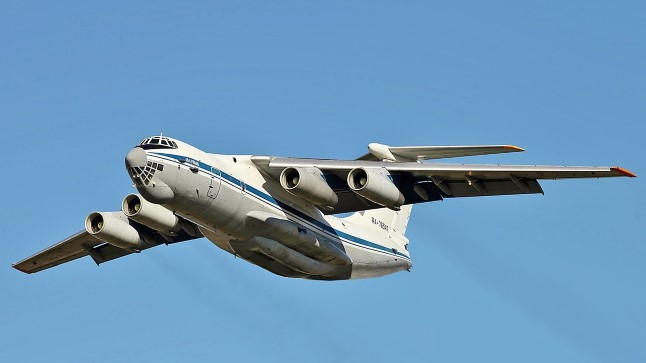 Iljušin Il-76 on Nõukogude Liidus loodud neljamootoriline suur sõjaväe transpordilennuk.