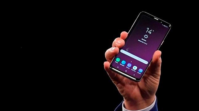 Samsung Galaxy S9 maailma esmaesitlus 25. veebruaril 2018 Barcelonas.