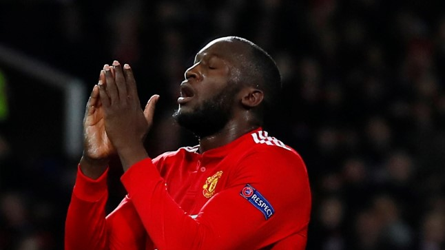 Manchester Unitedi ründestaar Romelu Lukaku.