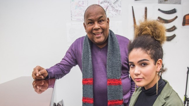 Dave Bentoni ja tema tütar Sissi Nylia Benita