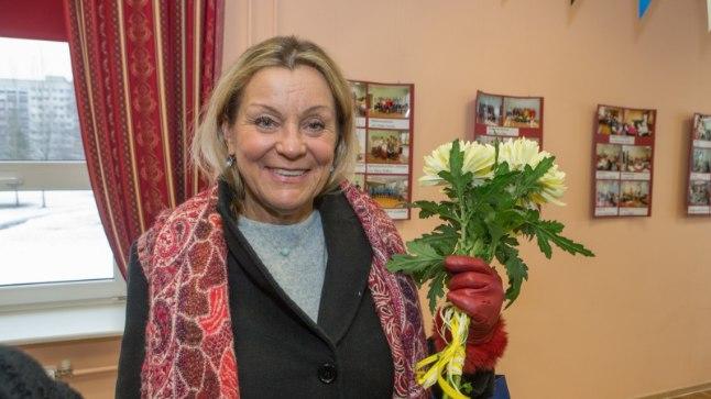 Anne Veesaar Mustamäe päevakeskuses