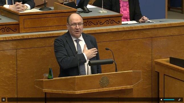 Mart Helme sõnavõtt